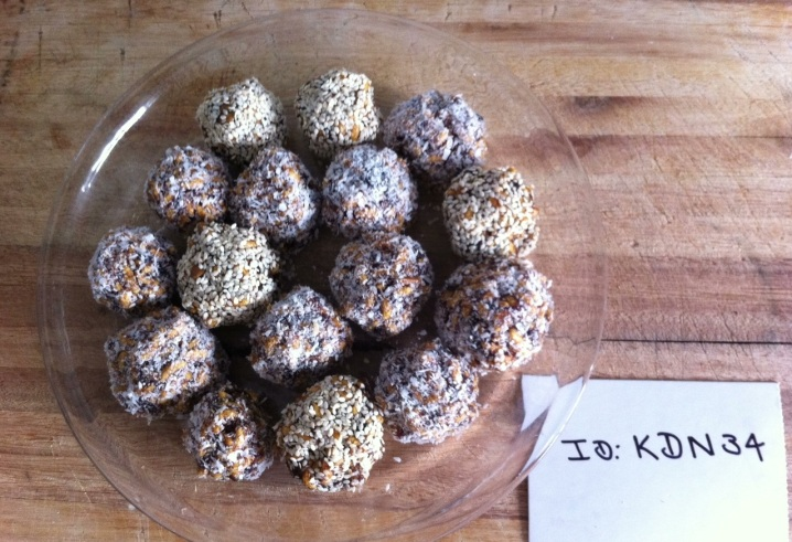Healthy Wheat Free Date Balls